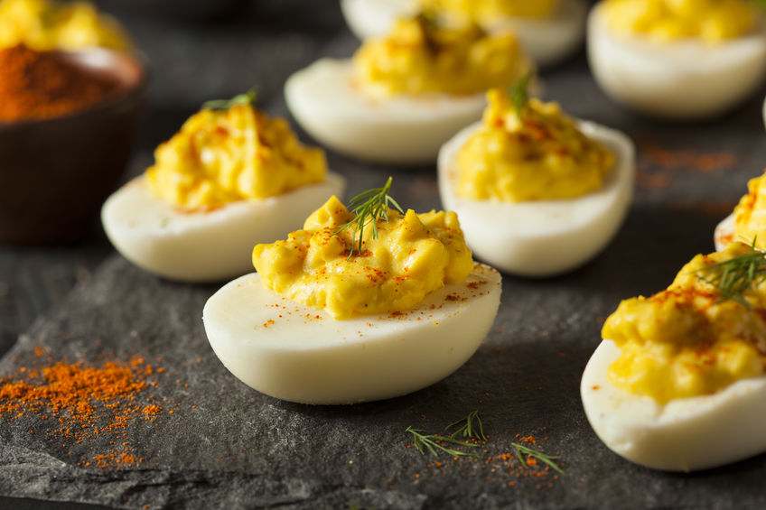SWEEETHEAT Deviled Eggs