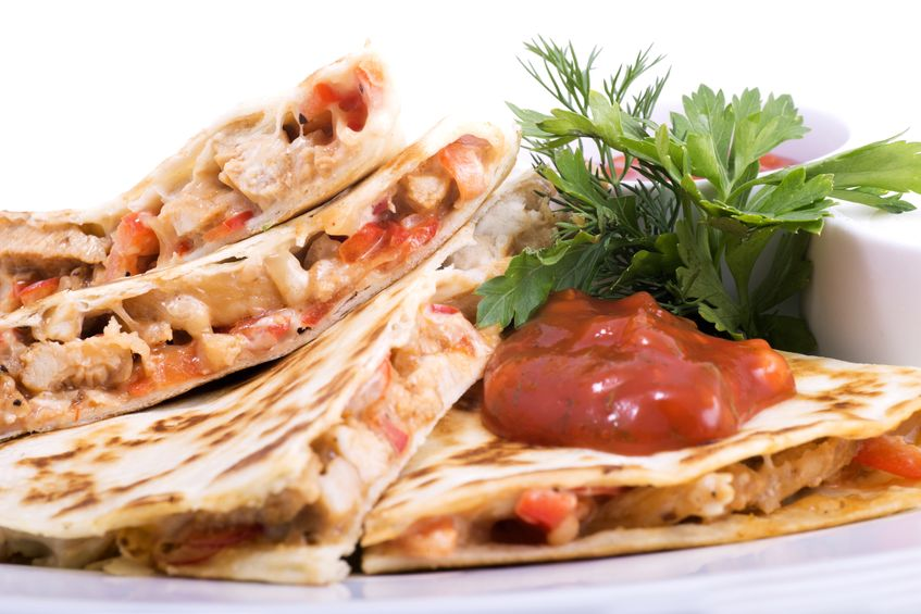 SWEEETHEAT Chicken Quesadillas