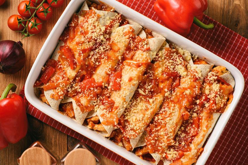 SWEEETHEAT Chicken Enchiladas