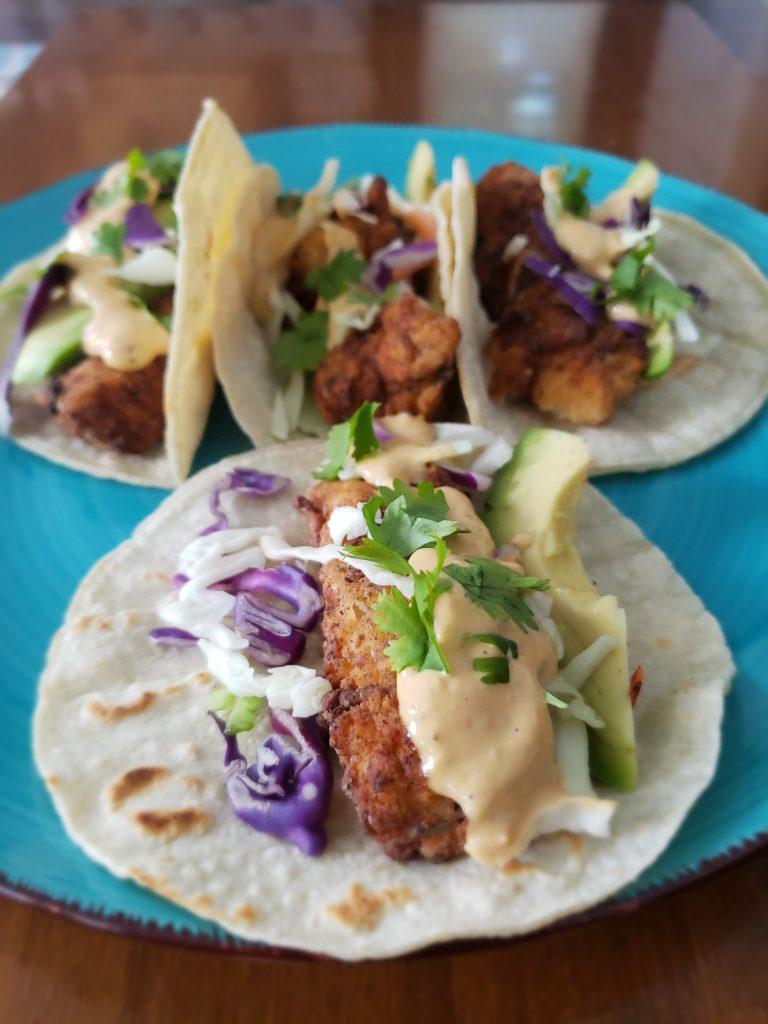 SWEEETHEAT Fish Tacos | SWEEETHEAT