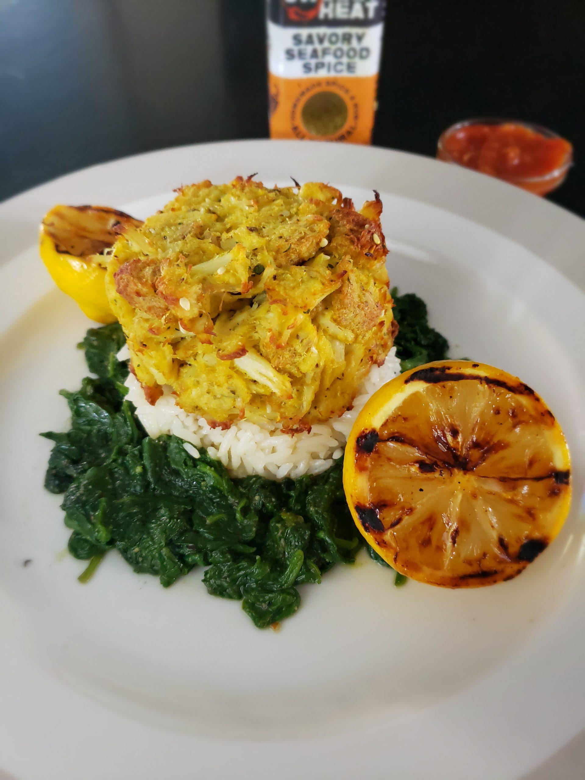 SWEEETHEAT Crab Cakes|SWEEETHEAT