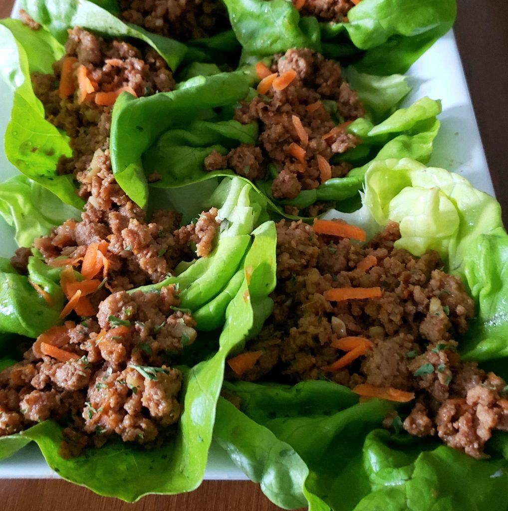 SWEEETHEAT Lettuce Wraps